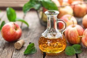 Ocet jabłkowy na łupież