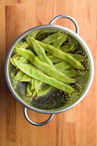 Gotowanie fasolki szparagowej