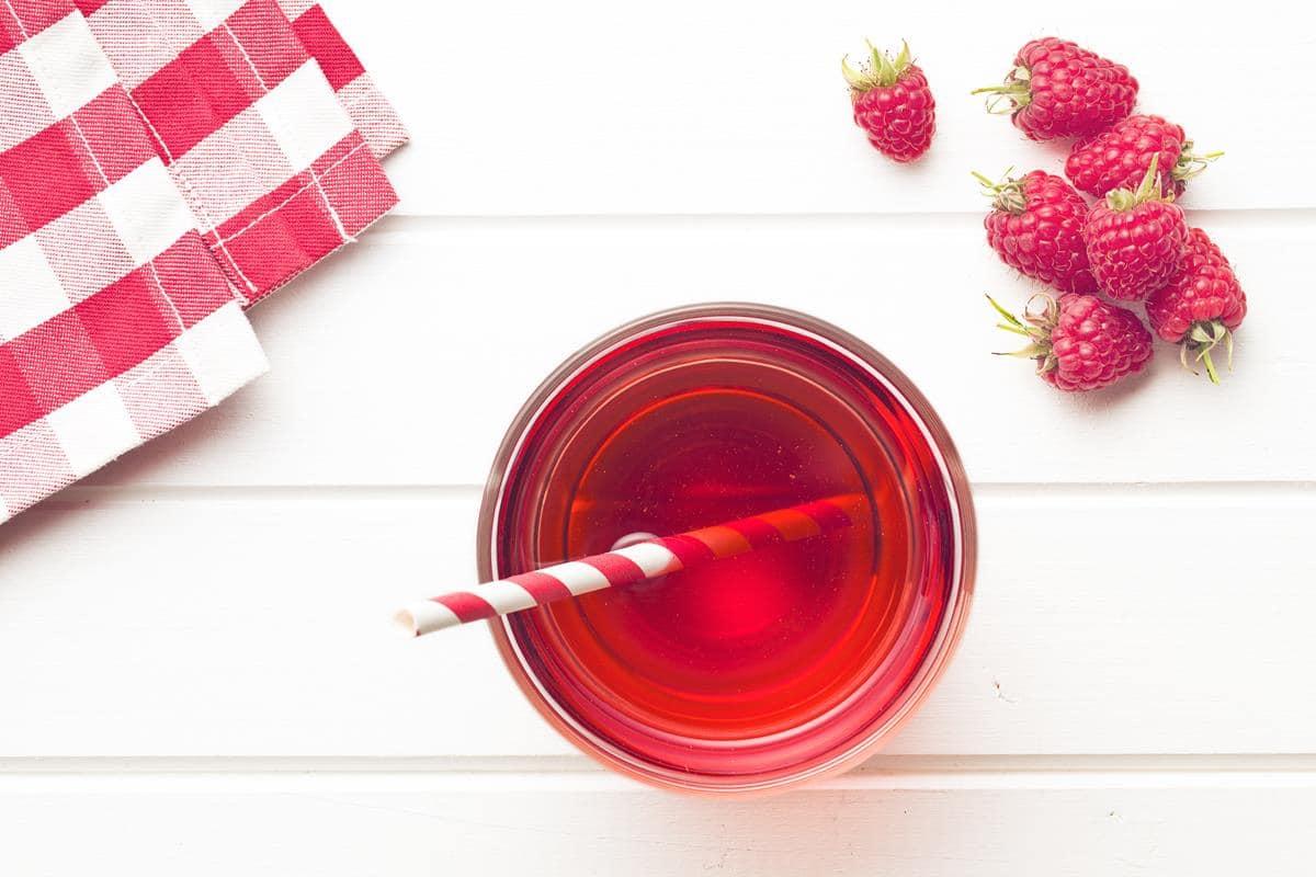 Jak zrobić sok z malin