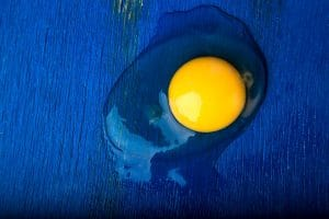 Domowa maska nawilżająca z jajek