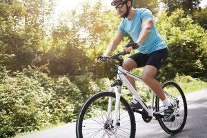 Jazda na rowerze problem z kolanami