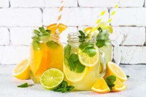 Składniki na lemoniadę