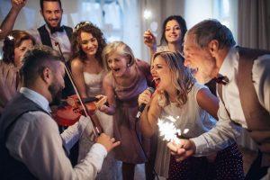 Zabawy oczepinowe na weselu