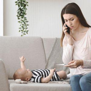 Jak walczyć z katarem u noworodka