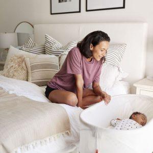 Sypialnia z kącikiem dla niemowlaka