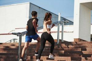 Ćwiczenia na schodach