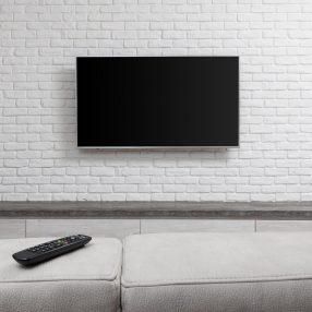 Aranżącja ściany z telewizorem