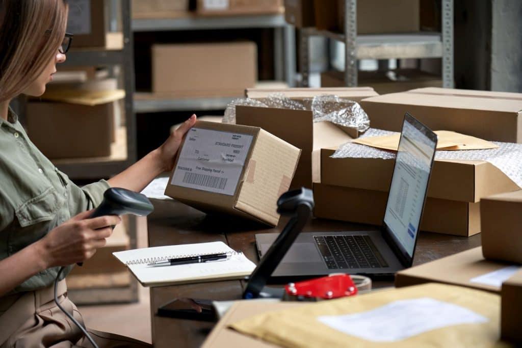 proces logistyczny w sklepie internetowym