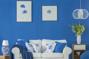 Niebieski pokój dziewczynki